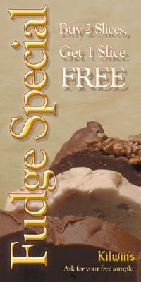 Kilwin's Fudge Coupon - Buy Two Get One Free
